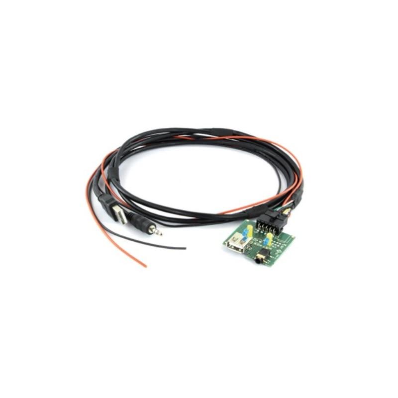 Conector adaptador USB-AUX original Hyundai, Kia