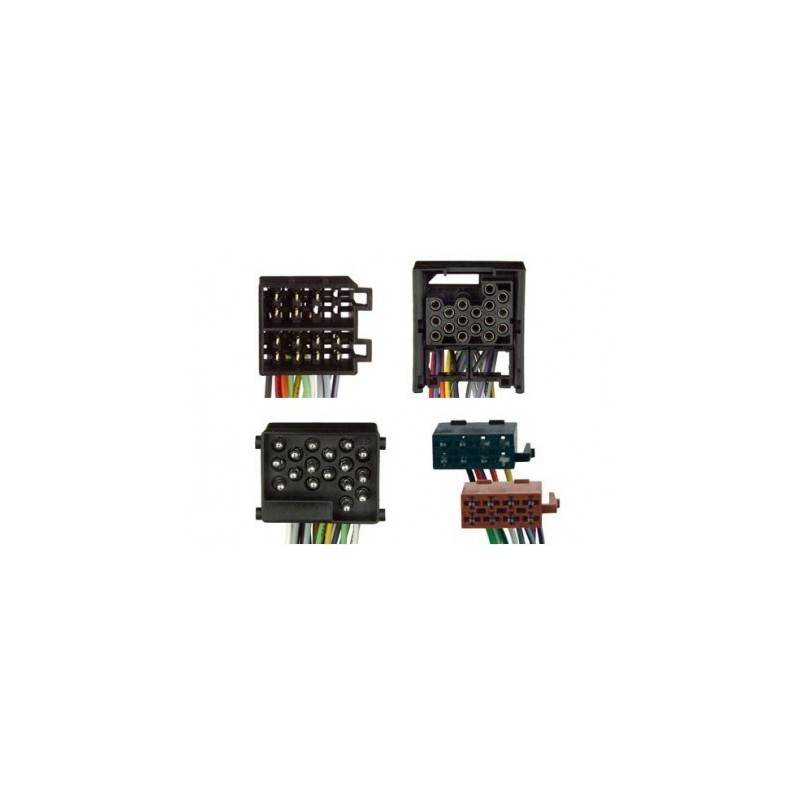 Conjunto conectores ISO-OEM BMW