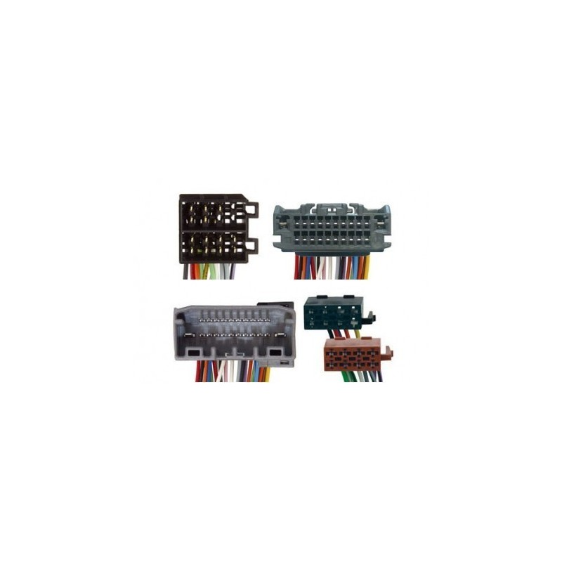 Conjunto conectores ISO-OEM Chrysler