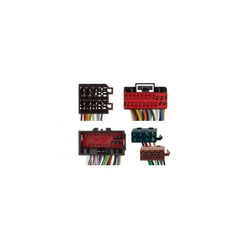 Conjunto conectores ISO-OEM Jaguar, Land Rover