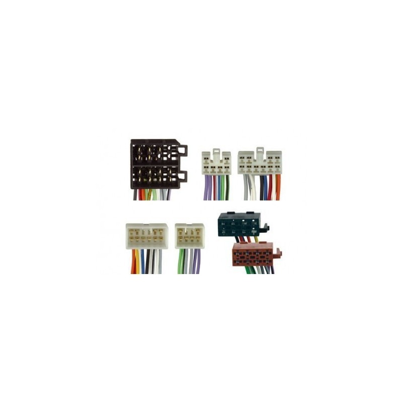 Conjunto conectores ISO-OEM Lexus