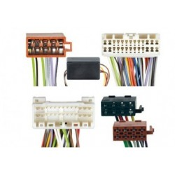 Conjunto conectores ISO-OEM Mazda