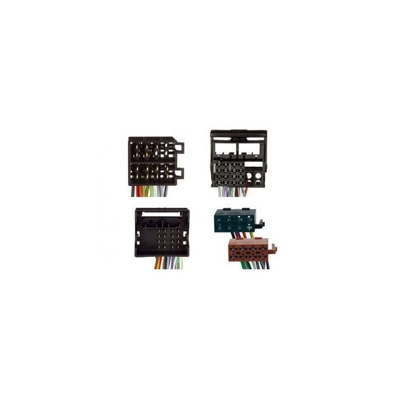 Conjunto conectores ISO-OEM Mercedes