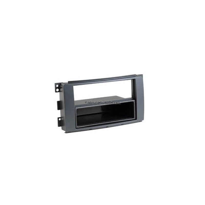 Soporte auto-radio doble DIN MMC Smart