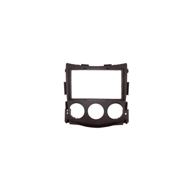 Soporte auto-radio doble DIN Nissan