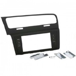 Soporte auto-radio doble DIN VW