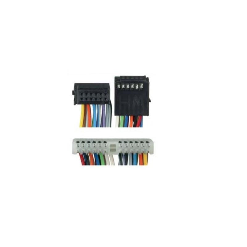 Conjunto conectores auxiliares para Fakra Opel