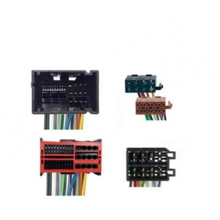 Conjunto conectores ISO-OEM Fiat, Alfa, Jeep