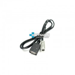 CONECTOR USB 80cm - INTERFACE USB ADD PARA TOYOTA, MAZDA, SUBARU, LEXUS...