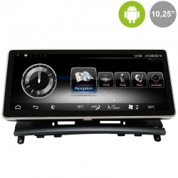 """MERCEDES CLASE C W204 (2007-6/2011) - ANDROID 10,25"""""""