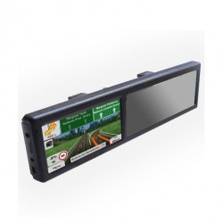 "RETROVISOR GPS PANTALLA TACTIL 5"" Y BLUETOOTH"