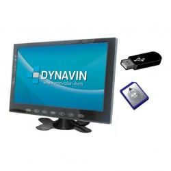 "MONITOR 9"": AV IN + CAM IN. SD, USB"