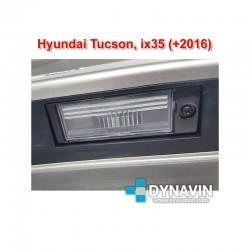 DYNAVIN-HYUNDAI ix35, TUCSON (+2016): CÁMARA TRASERA DE APARCAMIENTO A TODO COLOR Y LINEAS GUIA DE ASISTENCIA
