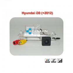 DYNAVIN-HYUNDAI I30 (GD +2012): CÁMARA TRASERA A TODO COLOR Y LINEAS GUIA DE ASISTENCIA PARA HUECO DE LUZ