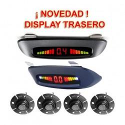 DYNAVIN-SENSORES DE PARKING - KIT DE 4 CAPSULAS CON DISPLAY LED