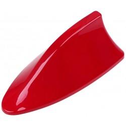 ANTENA ALETA  TIBURON Rojo sólido