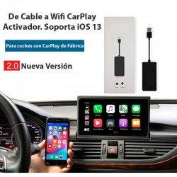 ACTIVADOR CAR PLAY SIN CABLES-WIFI OEM