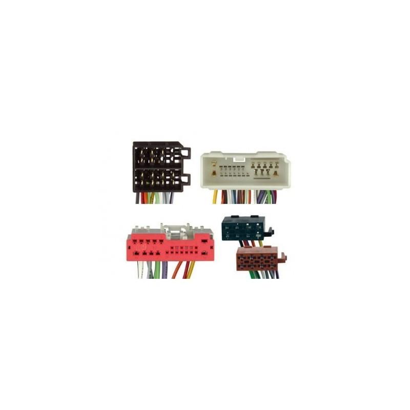 Conjunto conectores ISO-OEM Ford, Land Rover