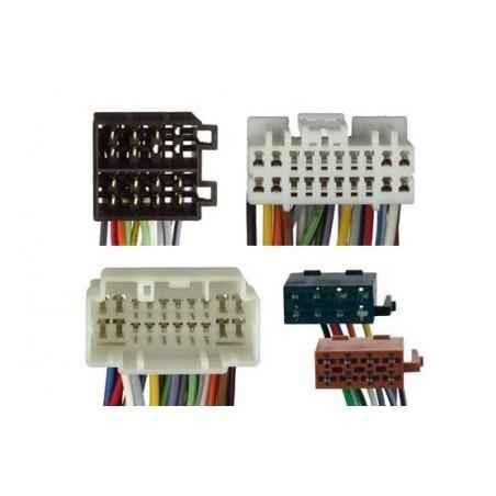 Conjunto conectores ISO-OEM Honda,Suzuki,Nissan
