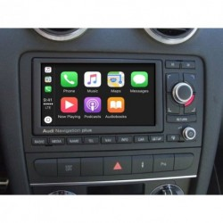 Carplay + Cámara Trasera + Cámara delantera para AUDI A3, A4, TT, R8. SEAT EXEO