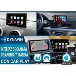 CarPlay + Cámara Frontal + Cámara Trasera para AUDI MMI, MIB1 y MIB2