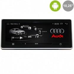 "Android 10'25"" para AUDI A4, A5, Q5 (MMI 3G)"