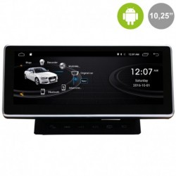 "Android 10´25"" para AUDI A6 4F, AUDI Q7 4L (MMI 2G)"