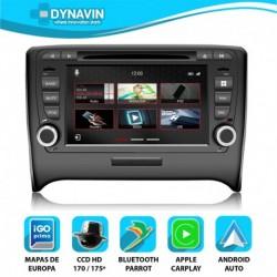 Dynavin N7 PRO para AUDI TT 8J (2006-2014)