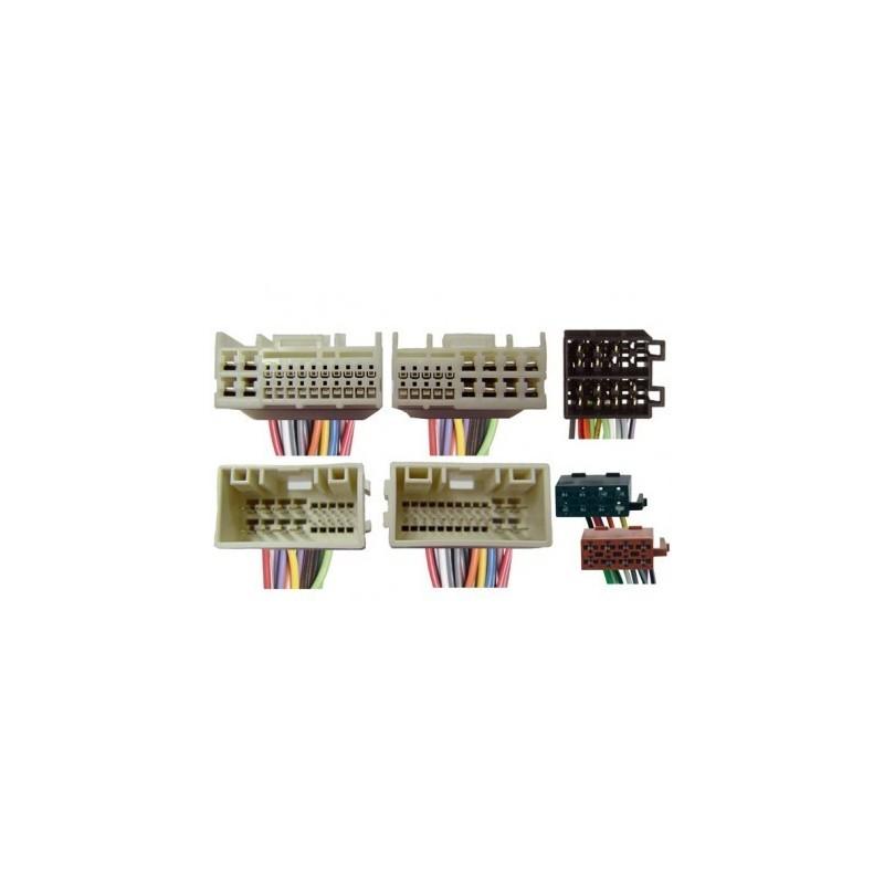 Conjunto conectores ISO-OEM Hyundai,Kia