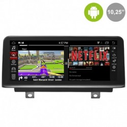 Android 10´8 para BMW SERIE 3 F30, F31, F34, F35. BMW SERIE 4 F32, F33, F36 (+2012)
