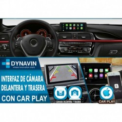 CarPlay + Cámara Delantera + Cámara Trasera para BMW EVO ID5, BMW EVO ID6