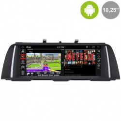 Android 10´8 para BMW SERIE 5 F10, F11 (+2013) NBT