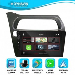 Dynavin N7X PRO para HONDA CIVIC MK8 (2006-2012)