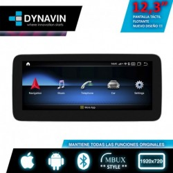 """MERCEDES CLASE A/B/CLA/GLA NTG 5.0/5.1 (+2015) - ANDROID 12,30"""""""