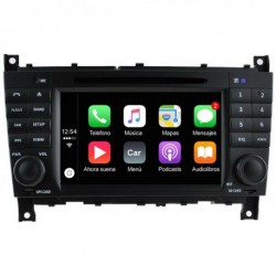 Android para MB CLASE C W203 / CLC SPORTCOUPE