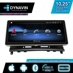 """ANDROID 10,25"""" para MERCEDES CLASE C W204 (2007-6/2011)"""