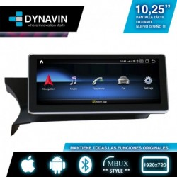 """ANDROID 10,25"""" para MERCEDES CLASE C W204 (+06/2011)"""