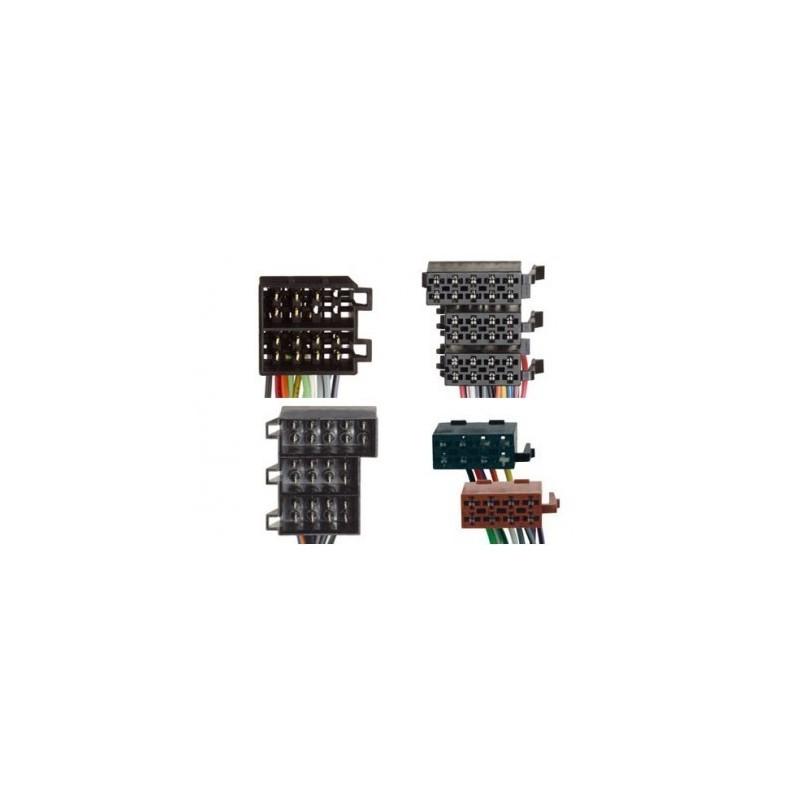 Conjunto conectores ISO-OEM Opel