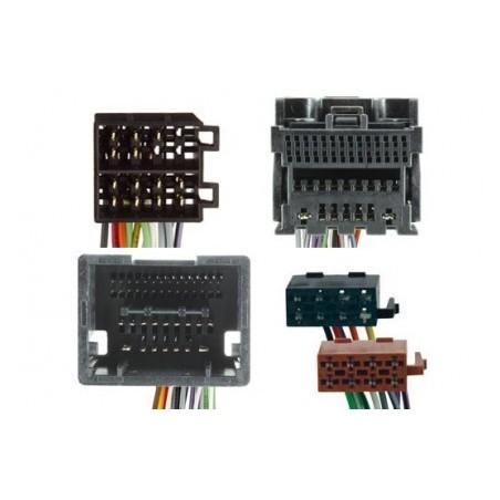 Conjunto conectores ISO-OEM Opel, Chevrolet