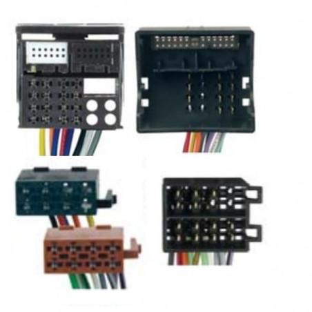 Conjunto conectores ISO-OEM Opel, Suzuki