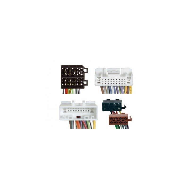 Conjunto conectores ISO-OEM Subaru