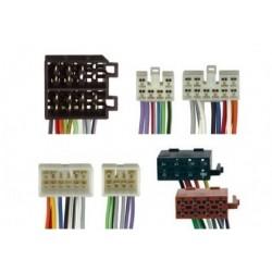 Conjunto conectores ISO-OEM Toyota, Dahiatsu