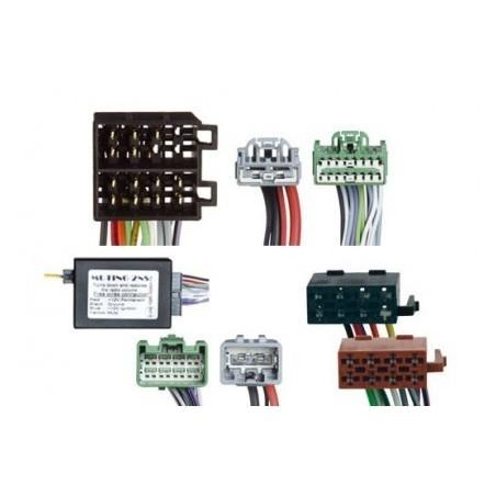 Conjunto conectores ISO-OEM Volvo, Land Rover